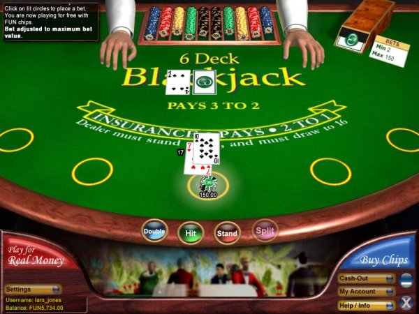 Double Deck Blackjack - 46036