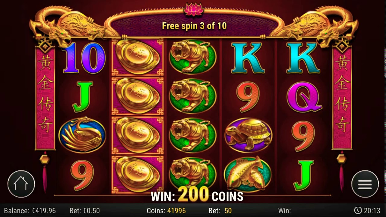 Golden Legend Slot - 714561