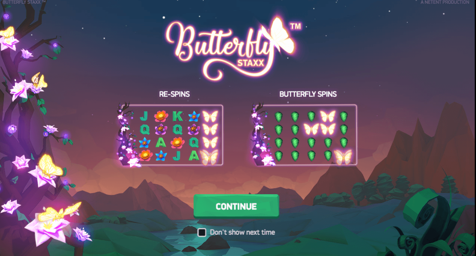 Butterfly Staxx Slot - 257737