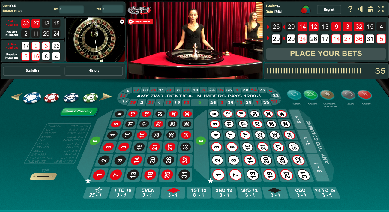 Roulette Next Number - 404139
