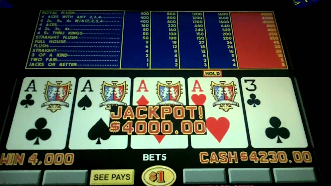 Video Poker Pay - 127306